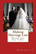 Making Marriage Last