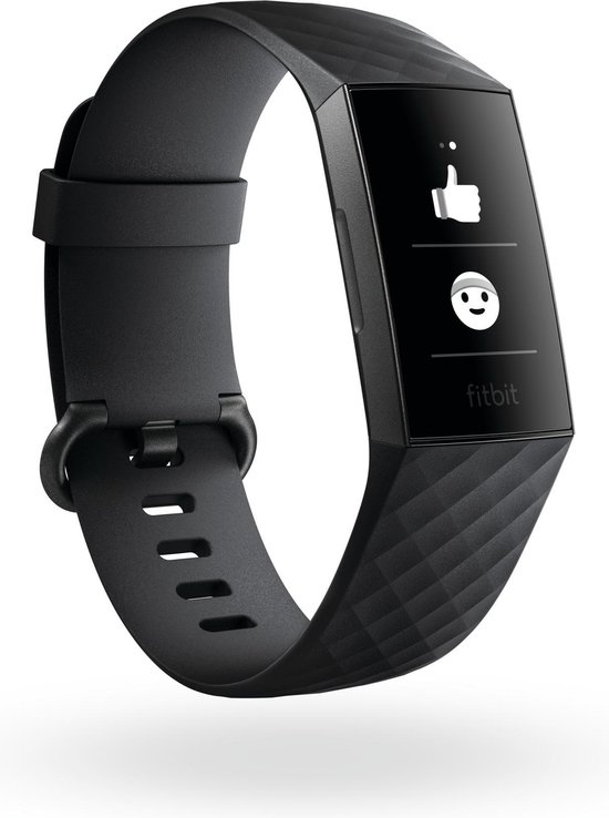 Fitbit Charge 3 - Activity tracker - Zwart