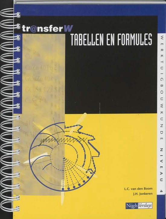 Tabellen en formules - L.C. van den Boom |