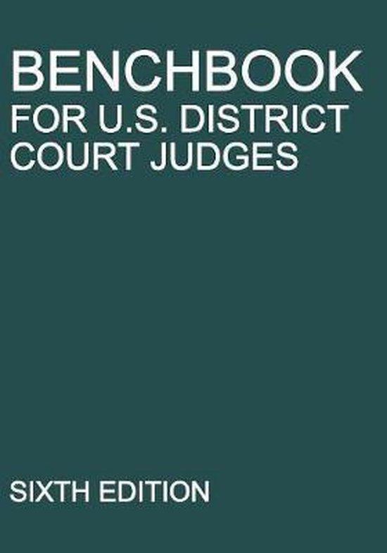 Benchbook for U.S. District Court Judges