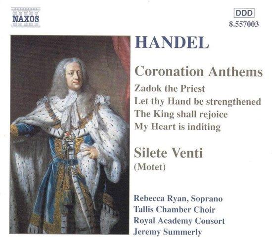 Handel:Coronation Anthems.Sile