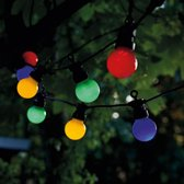 LUMISKY LICHTSNOER PARTY GUINGUETTE MET 10 MULTICOLOR LED LAMPJES