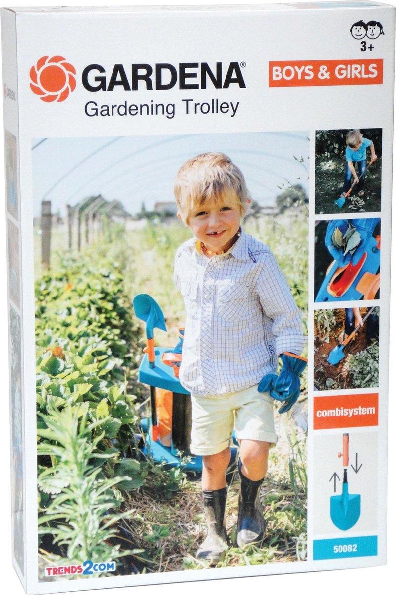 GARDENA Trolley Met Tuingereedschap - GARDENA