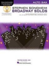 Stephen Sondheim Broadway Solos - Alto Saxophone