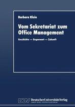 Vom Sekretariat Zum Office Management