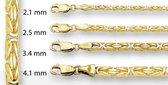 Huiscollectie 4004055X Gouden konings collier