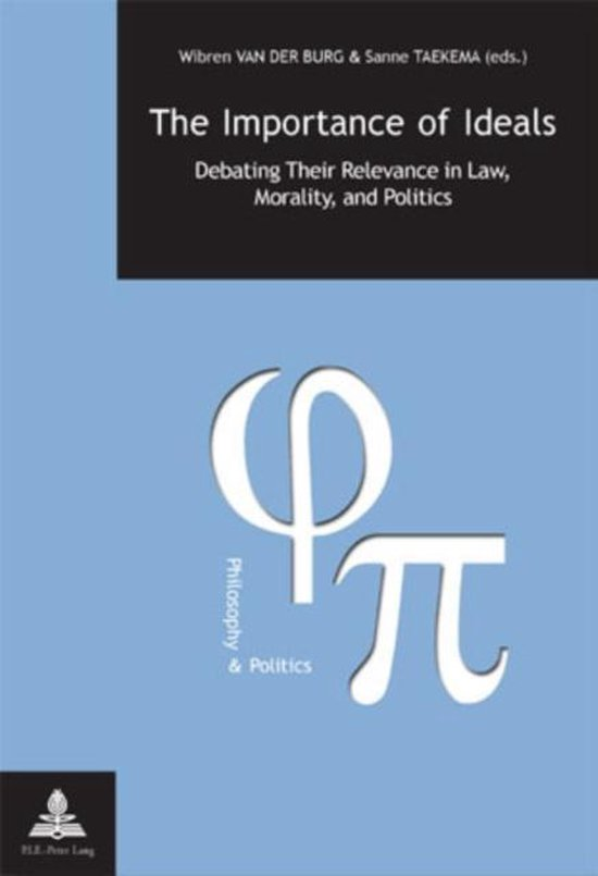 Boek cover The Importance of Ideals van Wibren van der Burg (Paperback)