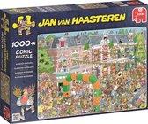 Afbeelding van Jan van Haasteren Nijmeegse Vierdaagse - Puzzel 1000 stukjes