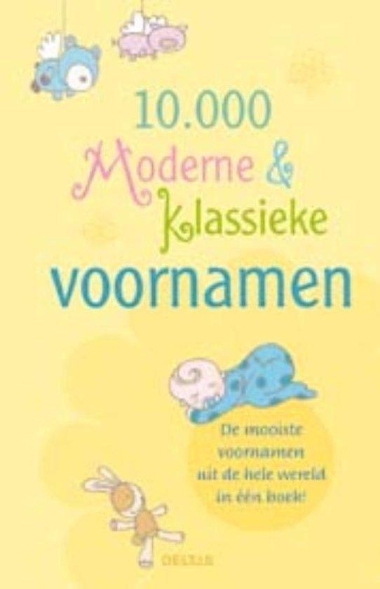 Cover van het boek '10.000 moderne en klassieke voornamen'