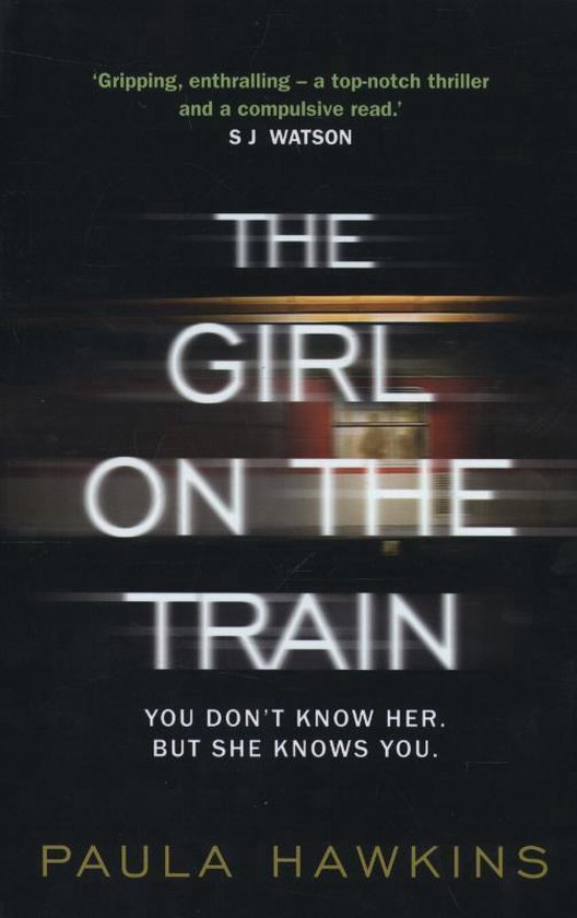 Omslag van The Girl on the Train