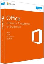 Microsoft Office 2016 - Home & Student - Windows - Nederlandstalig