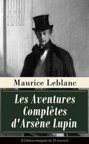 Omslag Les Aventures Complètes d'Arsène Lupin (L'édition intégrale de 23 oeuvres)