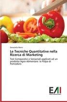 Le Tecniche Quantitative Nella Ricerca Di Marketing