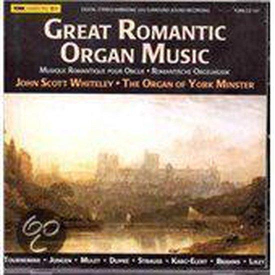 Great Romantic Organ  Music: York Mi