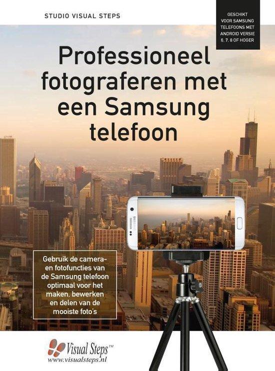 Professioneel fotograferen met een Samsung telefoon - Studio Visual Steps |