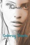 Human Coloring Sheets