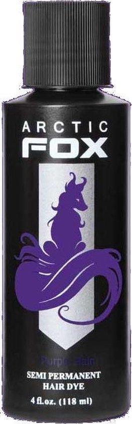 Purple Rain, semi permanente haarverf paars - 118 ml - Arctic Fox - Arctic Fox