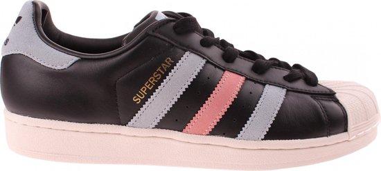 bol.com | Adidas Sneakers Superstar Dames Zwart Maat 41 1/3