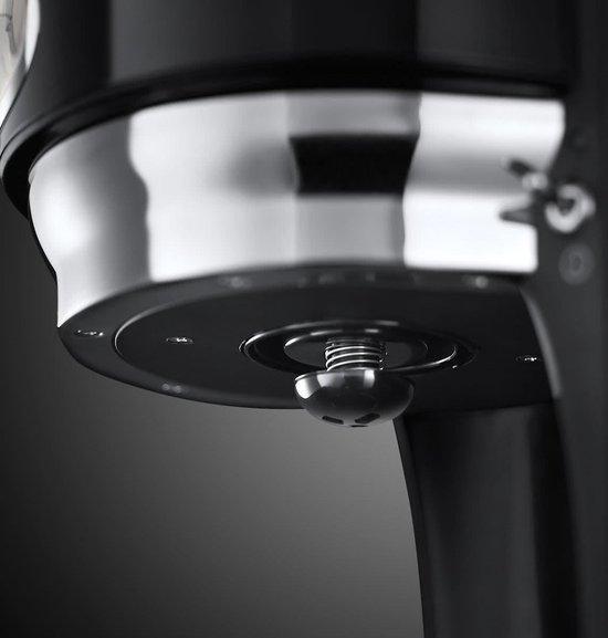 Russel Hobbs Retro - Groot Koffiezetapparaat - Classic Noir