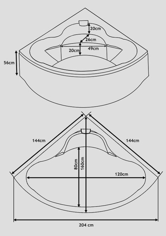 Whirlpool-indoor Jacuzzi-Bubbelbad-Spa-Hoekbad-SENADO