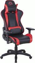 Qware Gaming Stoel - Seat Pro Taurus - Carbon look – Rood