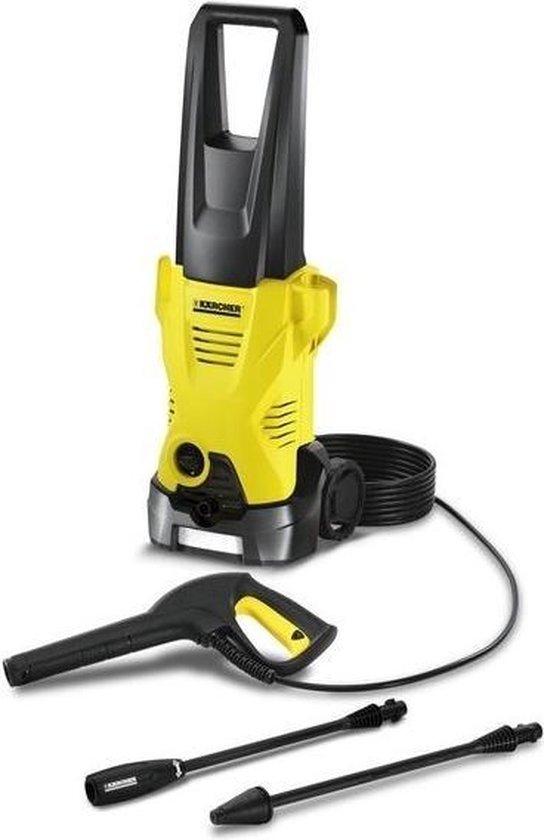 Kärcher K 2 Premium Staand Electrisch 360L/u 1400W Zwart, Geel pressure washer