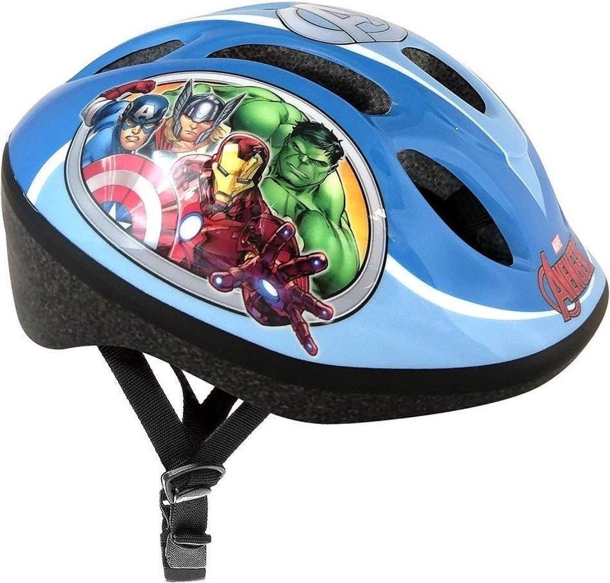 Marvel Kinderhelm Avengers Blauw Maat 50/56