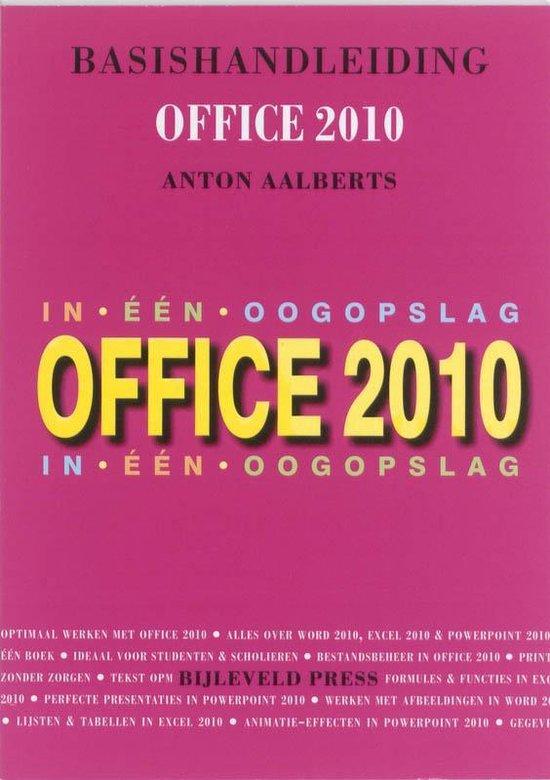 Basishandleiding Office 2010 - Anton Aalberts | Fthsonline.com