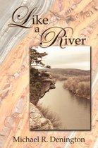 Boek cover Like a River van Michael R. Denington