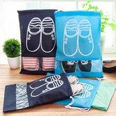 Schoenen opberg zak - 4 Stuks - Handig voor reizen - Travel bag - Waterdichte zakken - Extra Groot - Milieu Vriendelijk - Reistas - Schoenen - Makkelijk in de koffer - Reis Product
