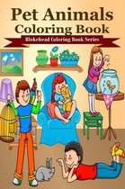 Pet Animals Coloring Book