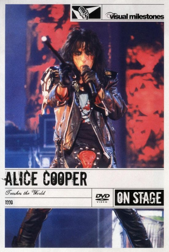 Cover van de film 'Alice Cooper - Trashes The World'