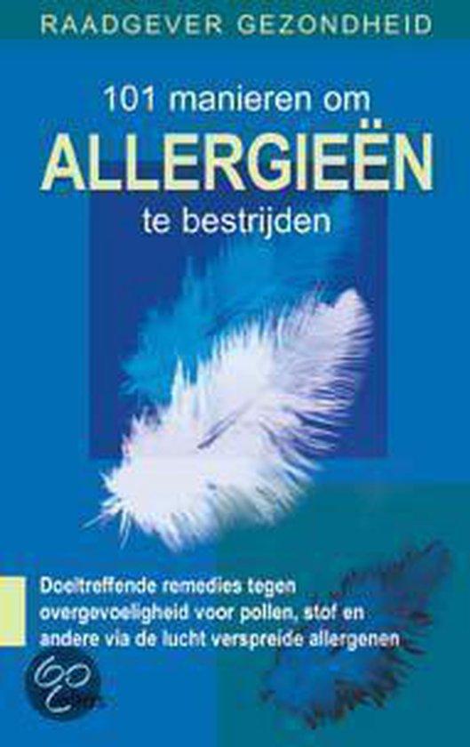 Cover van het boek '101 manieren om allergieen te bestrijden'