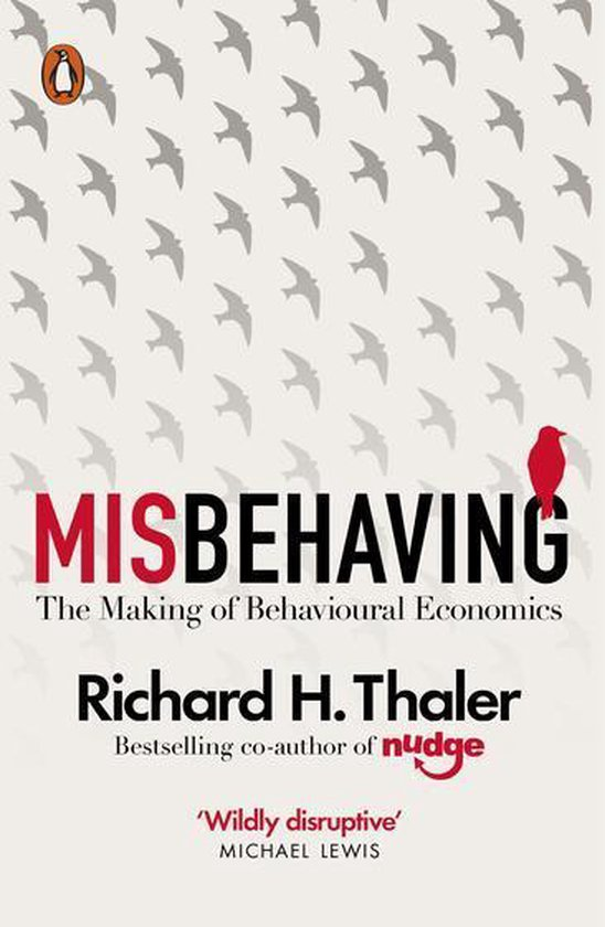 Boek cover Misbehaving van Richard H. Thaler (Onbekend)