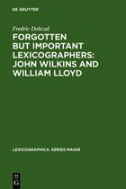 Forgotten But Important Lexicographers: John Wilkins and William Lloyd