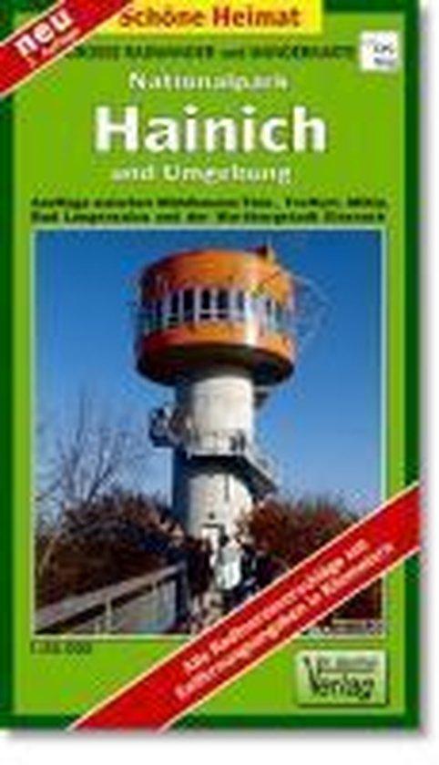 Nationalpark Hainich und Umgebung 1 : 35 000. Wander- und Radwanderkarte