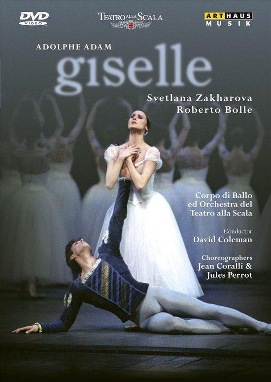 Cover van de film 'Adolphe Adam - Giselle'