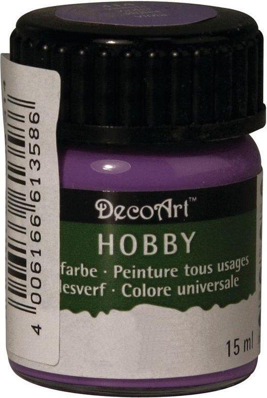 Hobby allesverf paars 15 ml