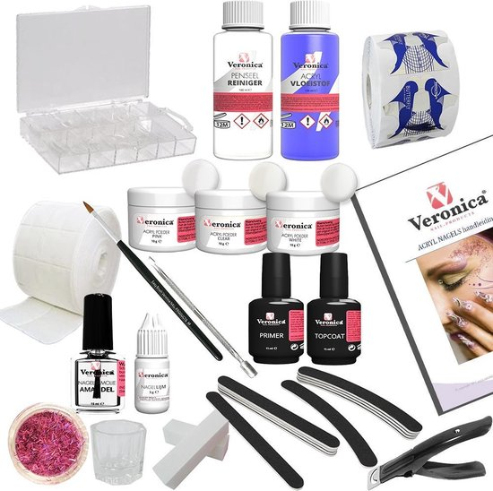 Veronica Nail Products Starterspakket voor Acrylnagels