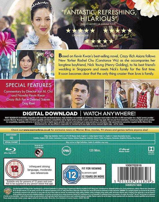 Crazy Rich Asians [Blu-ray]