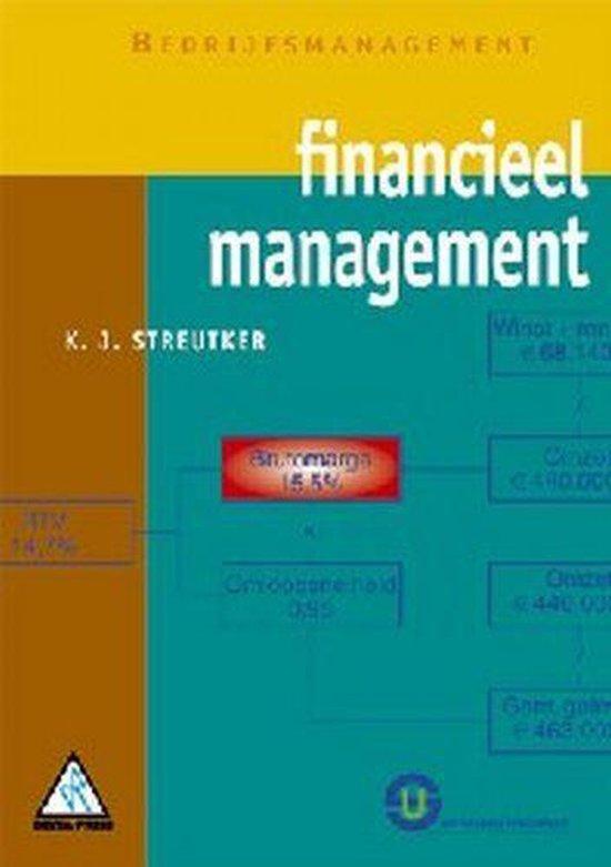 Financieel Management + CD-ROM - K.J. Streutker  