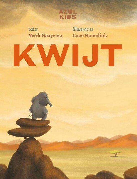 Boek cover Kwijt van Mark Haayema (Hardcover)