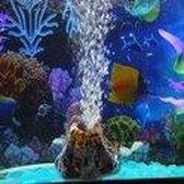 Aquarium Decoratie - Vulkaan ornament - Zuurstof / Bubbels effect | Geeft extra sfeer aan uw aquarium - Het tropische aquarium - Decoratie aquarium - Aquarium decoratie ornamenten