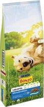 Bonzo Menubrokken Adult - Hondenvoer Kip & Groenten - 15 kg