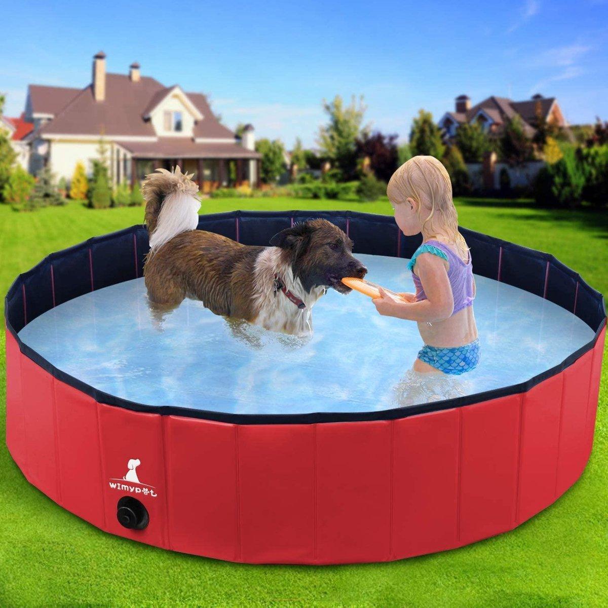Opvouwbaar Zwembad | Hondenzwembad | Kinderzwembad | 80 x 20 cm