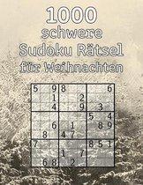1000 schwere Sudoku Ratsel fur Weihnachten