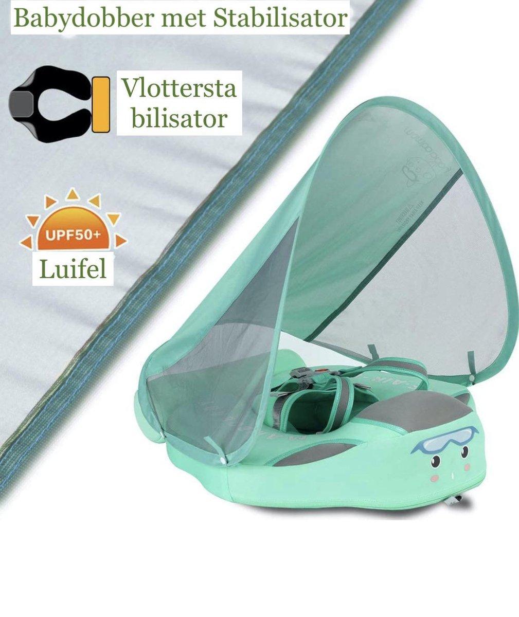 Baby Zwemband met Luifel Baby Float Niet - Opblaasbare Baby Speelgoed - TPU material Mambobaby®