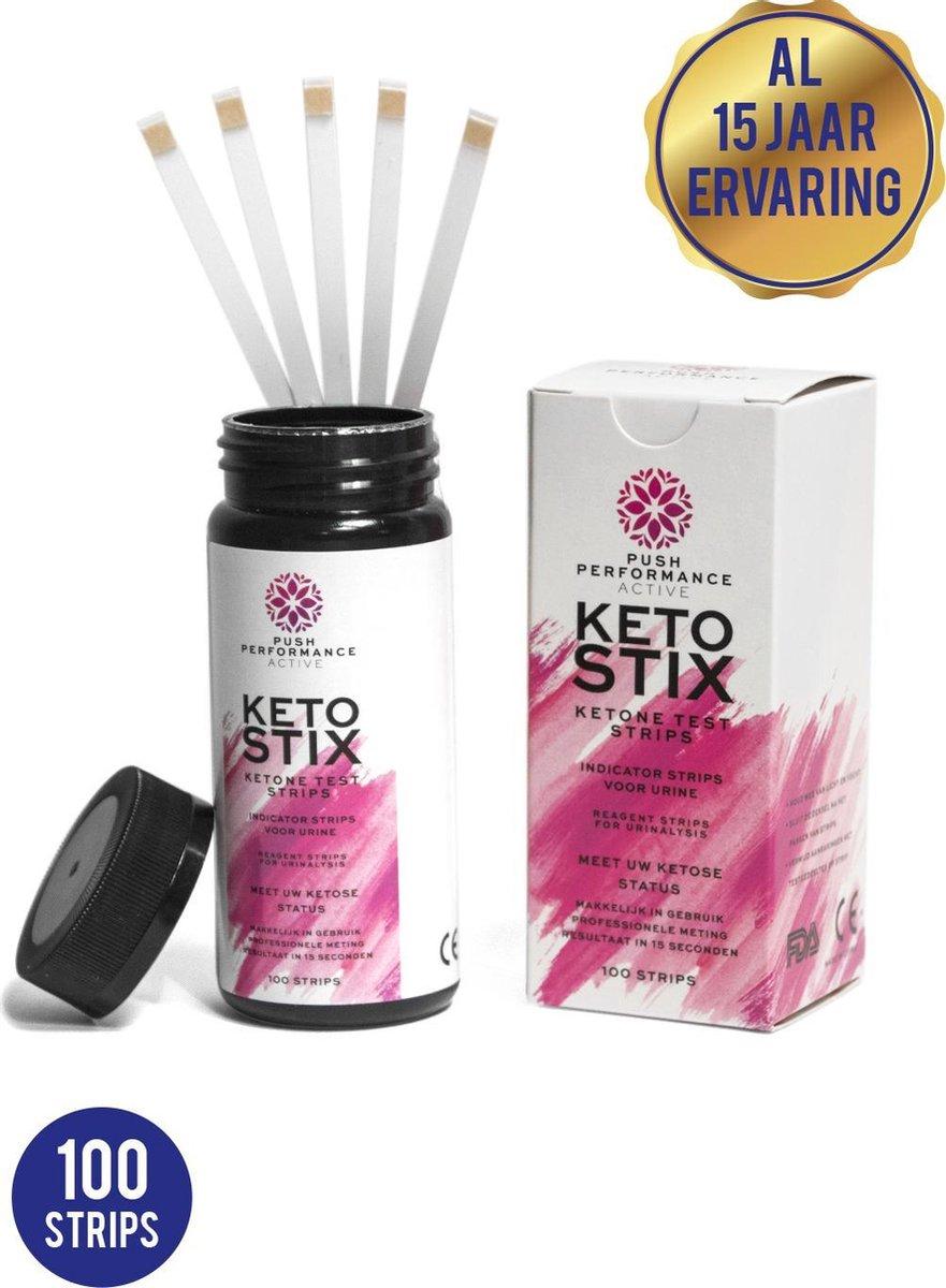 Push Performance Active Ketose Strips - #1 Nederland - Ketose Strips - Keto Strips - KetoStix- Keto