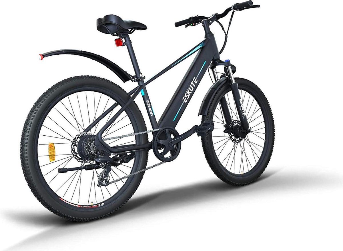 Elektrische fiets - Elektrische mountainbike - Mountainbike -  E-bike MTB Elektrische Fiets Mountain