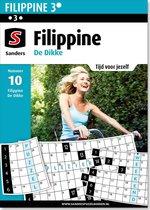 Sanders puzzelboek - Filippine 3* De Dikke editie 10